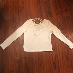 White too with back detail